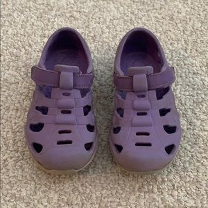 Play condition purple sneakers